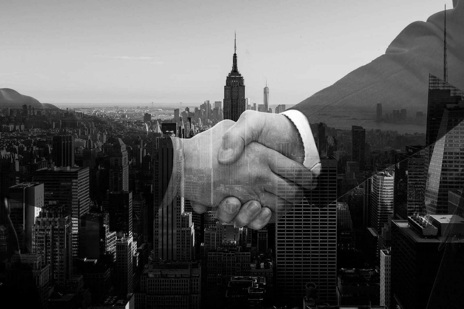 Vertrag mit Organisation in den US