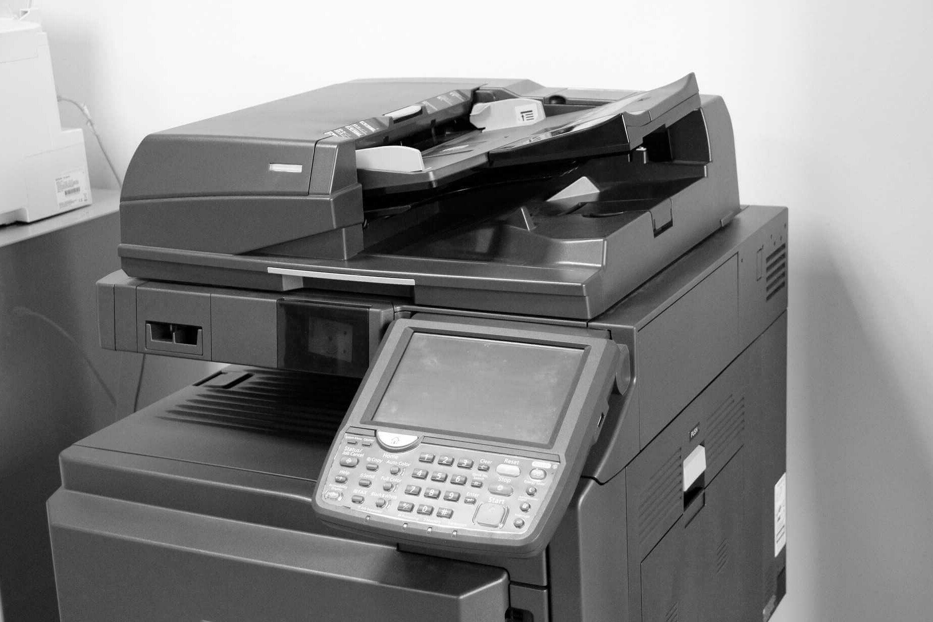 Symbolbild für eine Druck- und Kopierstation
