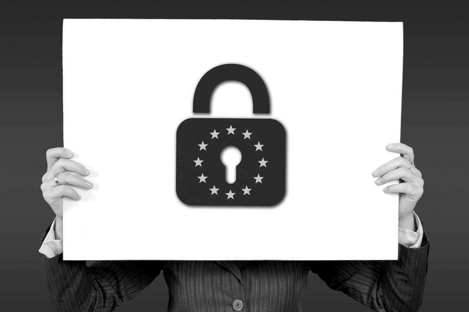 Symbol für Datenschutz in der EU